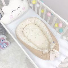 """Кокон """"Baby Design"""" (зірки на шоколадному) Маленька Соня 5019374"""