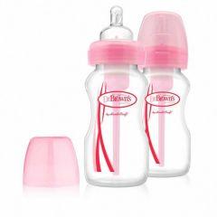 Набір пляшечок  з широкою горловиною (2 шт.), 270 мл, Dr. Brown'sWB92305-ESX