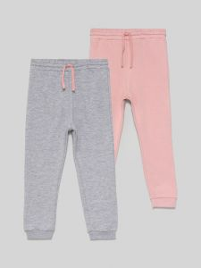 Штани з махровою ниткою всередині для дівчинки 1 шт. (рожеві)