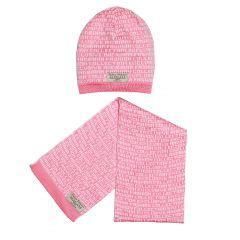 Дизайнерський набір для дівчинки (шапочка і шарфик), ШШ-2