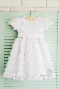 Праздничное платье для девочки (айвори), Flavien 7024