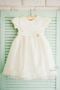 Святкове плаття для дівчинки (айворі), Flavien 7024