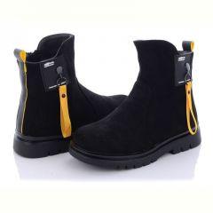 Замшеві чобітки для дівчинки,A831-3B
