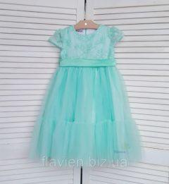 Святкове плаття для дівчинки (мятно-зелене), Flavien 7025