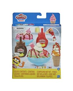 """Ігровий набір """"Морозиво з подвійним сиропом"""", Play-Doh F1190"""