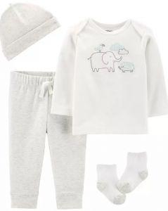 Трикотажный комплект для малыша