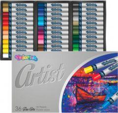 """Олійна пастель """"Artist"""" (36 кольорів), 65726PTR Colorino"""