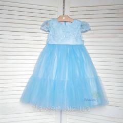 Святкове плаття для дівчинки (голубе), Flavien 7025