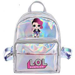 Рюкзак для дівчинки (сріблястий),  L.O.L. SURPRISE 113835