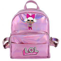 Рюкзак для дівчинки (рожевий),  L.O.L. SURPRISE 113835