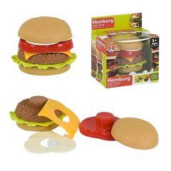 """Іграшка пірамідка """"Гамбургер"""" 7 ел., XJ326H-1"""