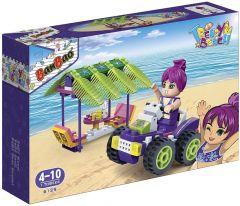 "Конструктор ""Модний пляж/ квадроцикл, альтанка"", Banbao 6129"
