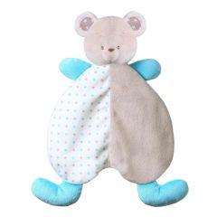 Іграшка-обіймашка - ковдрочка BEAR TONY, BabyOno 1236