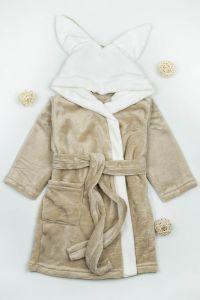 Плюшевий халат для дитини (капучіно), g-12422-v