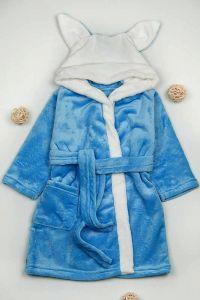 Плюшевий халат для дитини (синій), g-12422-v