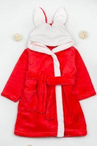 Плюшевий халат для дитини (червоний), g-12422-v