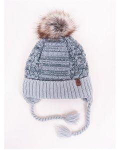 """Тепла шапка з трикотажною підкладкою """"Kevin"""", YoClub CZ-357"""