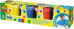 """Пальчикові фарби серії """"My first""""- Юний художник (4 кольори), SES Creative 14413S"""