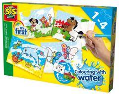 """Набір для творчості серії """"My first"""" - Водні малюнки, SES Creative 14421S"""
