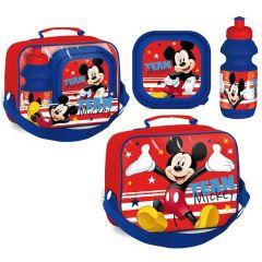 """Набір дитячий """"MICKEY"""" (ланчбокс і бідончик), Disney LR0389"""