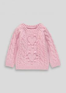Теплий светр для дівчинки