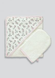 Набір для купання (рушник + рукавичка)