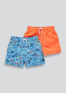 Шорты для плавания 1 шт.(оранжевые)