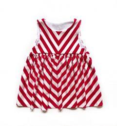 Трикотажне дизайнерське плаття для дівчинки, П-30