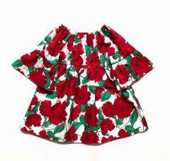 Коттонове дизайнерське плаття для дівчинки, П-29