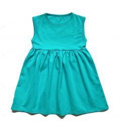 Трикотажне плаття для дівчинки, П-005