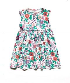Трикотажне плаття для дівчинки, П-004