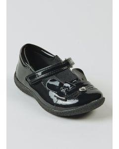 Стильні лакові туфлі для дівчинки