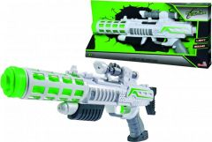 Світловий бластер-рушниця зі звуковими, світловими ефектами, Simba 8046945