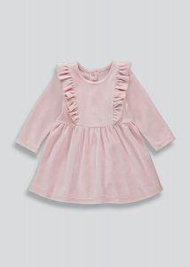 Велюрове плаття для дівчинки