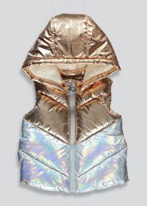 Стильна безрукавка з флісовою підкладкою для дівчинки