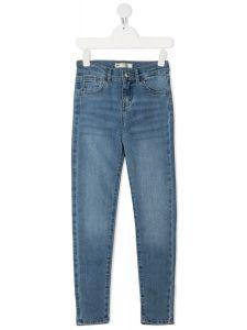 Джинси High Rise Super Skinny  для дівчинки (світло-сині), Levi's , 3E4691