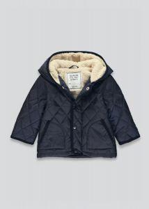 Стьобана куртка з підкладкою з шерпи для хлопчика