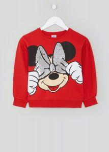 """Світшот """"Minnie Mouse"""" з легкою флісовою байкою всередині"""