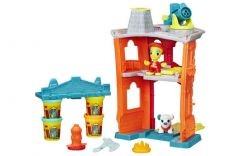 "Набір пластиліну ""Пожежна станція"" Play-Doh B3415"