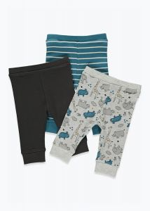 Набір трикотажних штанят  для хлопчика(3 шт.)