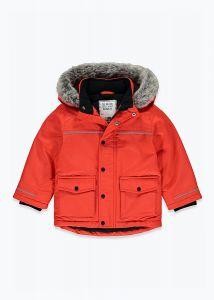 Тепла куртка-парка з флісовою підкладкою для хлопчика