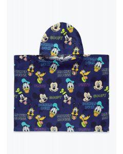 "Махровий рушник з капюшоном ""Mickey&Friends"""