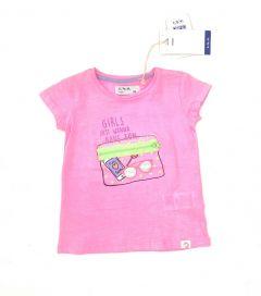 Трикотажна футболка для дівчинки, 3I3435