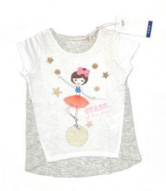 Трикотажна футболка для дівчинки, 3I3632