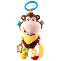 """Мягкая игрушка с прорезывателем обезьянка """"Молли"""" серия """"Активная жизнь"""" Balibazoo 85324"""