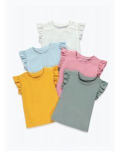 Набір футболок для дівчинки (5 шт.)