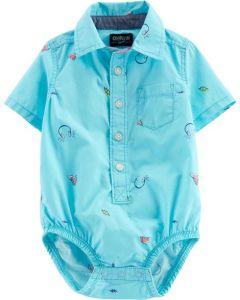 Сорочка-боді для хлопчика