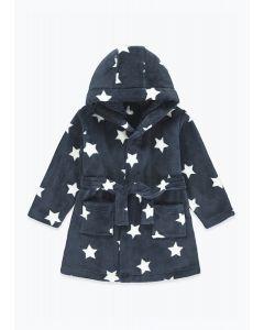 Плюшевий халат з капюшоном для дитини