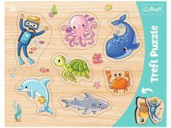 """Пазли рамкові """"Підводний світ"""", Trefl 31309"""