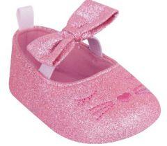 Пінетки для дівчинки, рожеві OB-110